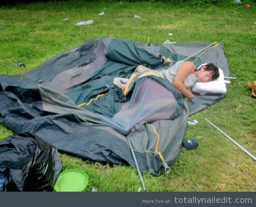 Camping – you're doing it wrong