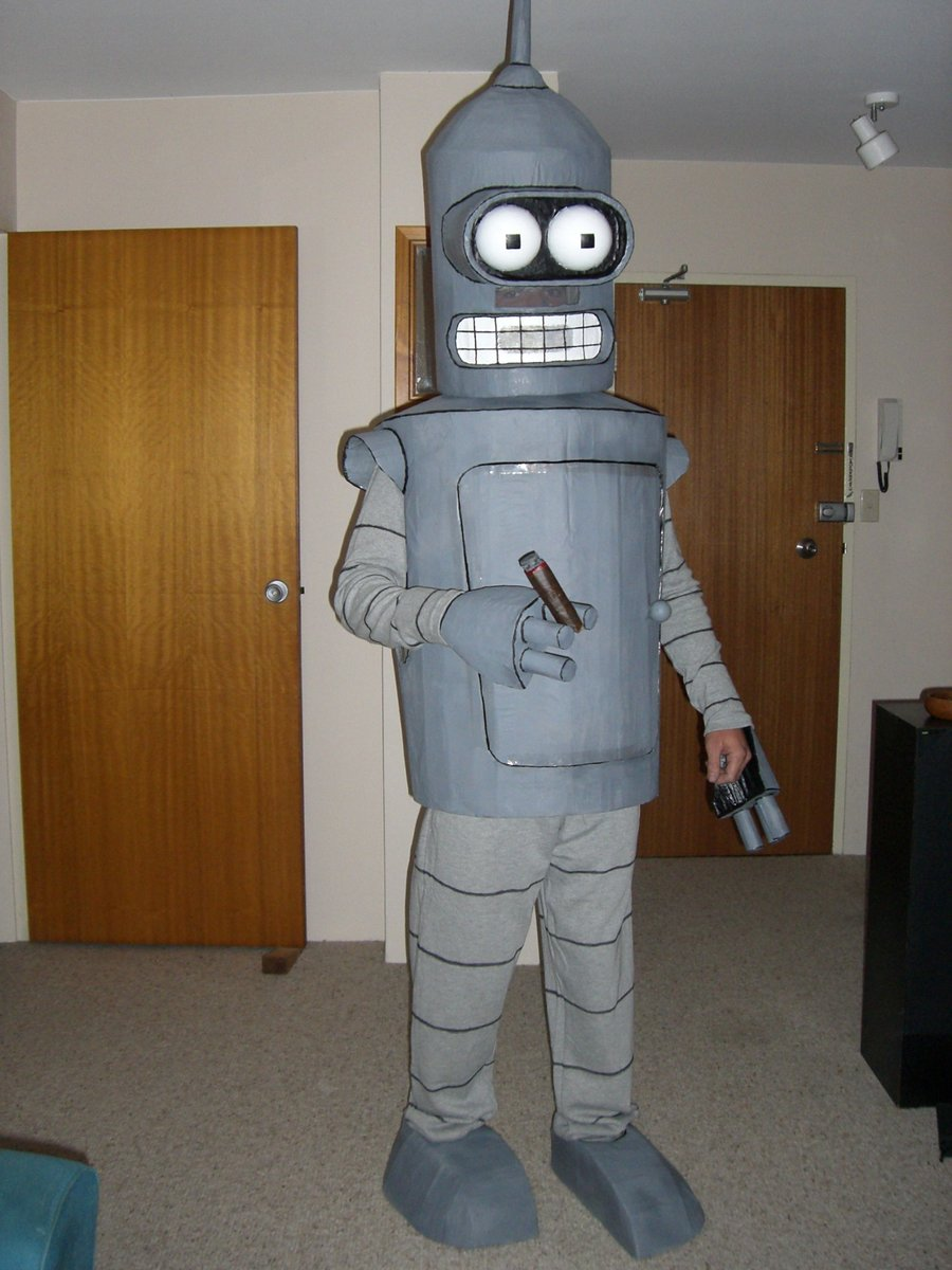Bender Halloween costume