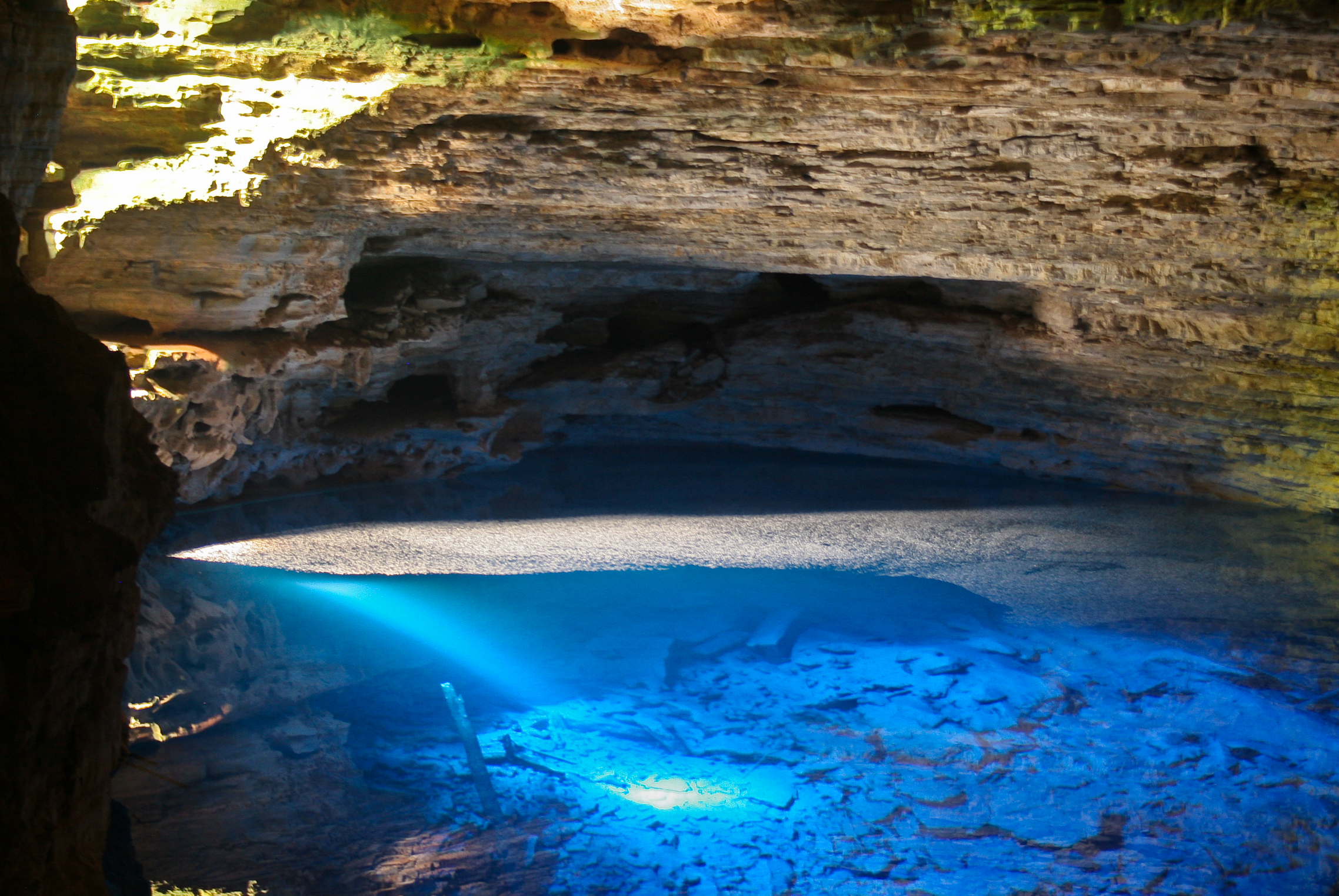 Enchanted Well at Chapada Diamantina in Bahia, Brazil