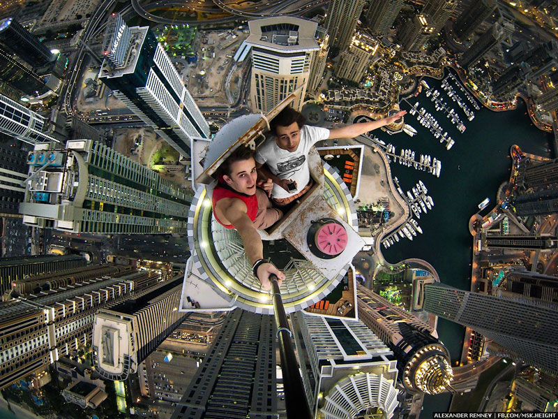 Photo of the Day: Selfie atop the World's Tallest Residential Building