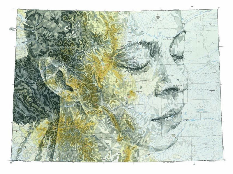 portraits drawn on maps by ed fairburn (6)