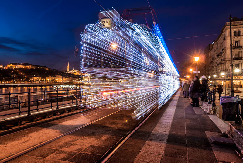 Photo of the Day: Trolley Goes Back to the Future