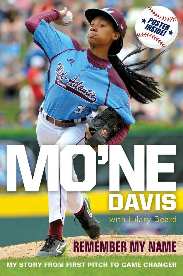 Harper Collins Children's Books will release Mo'ne Davis: Remember My Name on March 17, 2015.