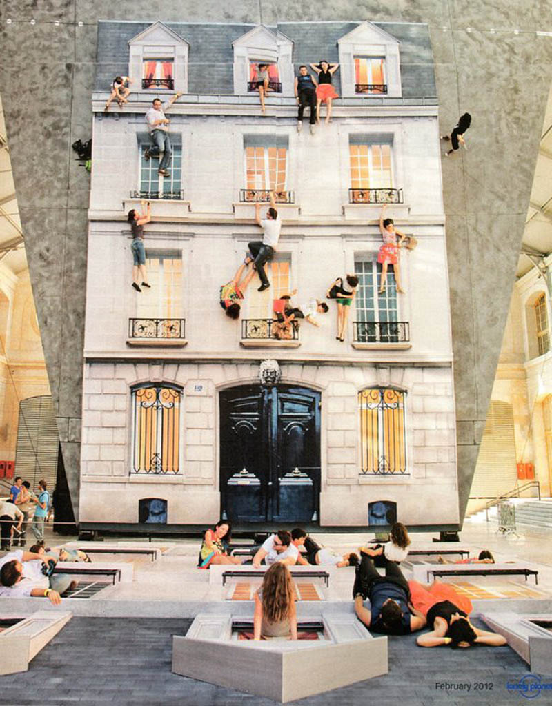 mirrored building art installation interactive france leandro erlich (1)