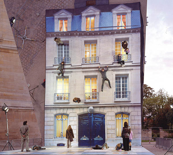 mirrored building art installation interactive france leandro erlich (3)