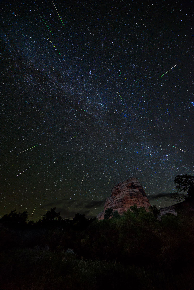 Photo of the Day: Perseids Meteor Shower