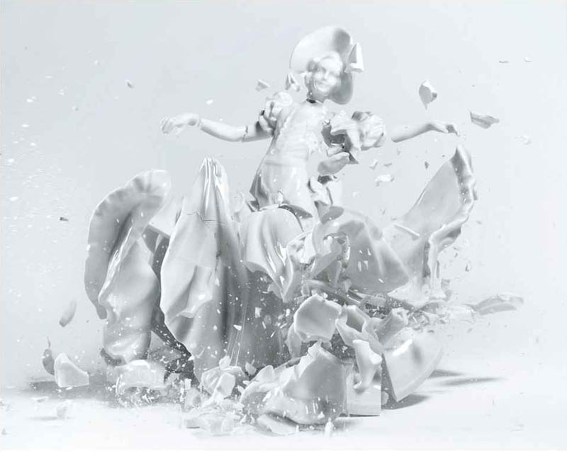 porcelain figures high speed photography as they smash drop to ground shatter klimas (4)