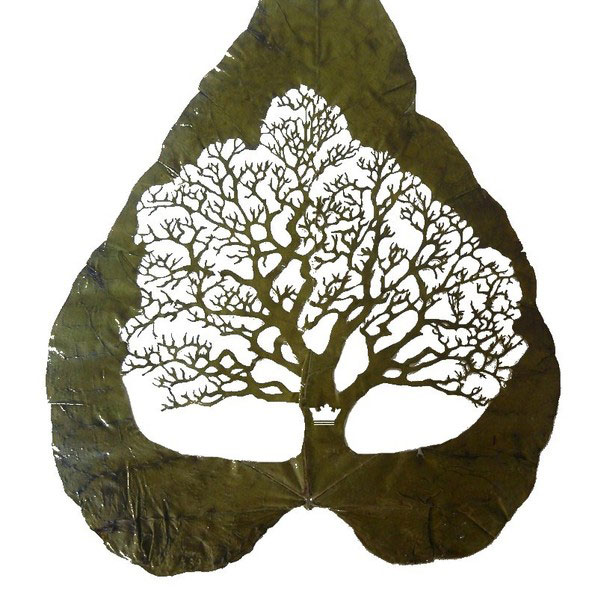 15 Precision Cut Leaf Artworks by Lorenzo Duran