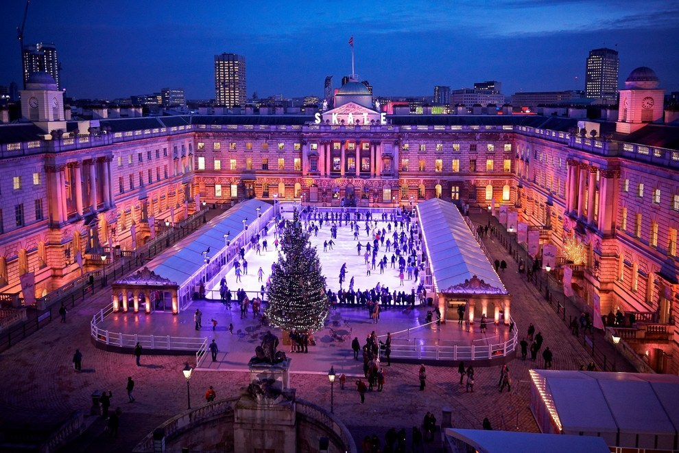 15 Dreamy Places To Go Ice Skating In London