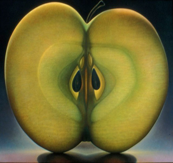 translucent oil paintings of fruit by Dennis Wojtkiewicz (2)