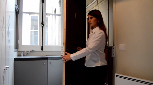 Would You Live In This 86-Square-Foot Apartment
