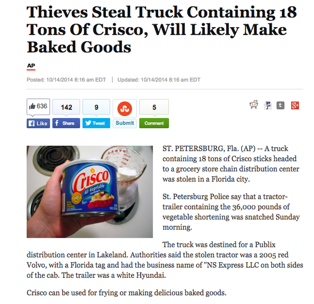 29 Unbelievably Insane Things That Happened In Florida In 2014
