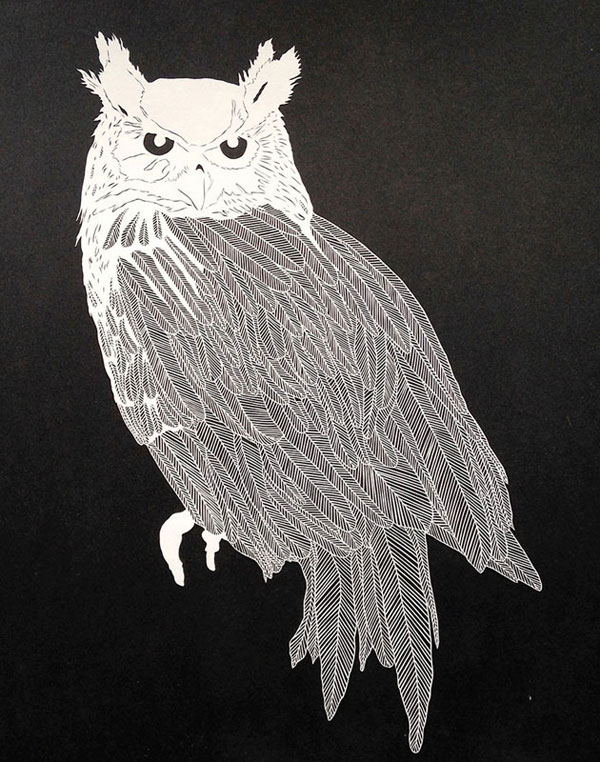 hand cut paper art by maude white 12