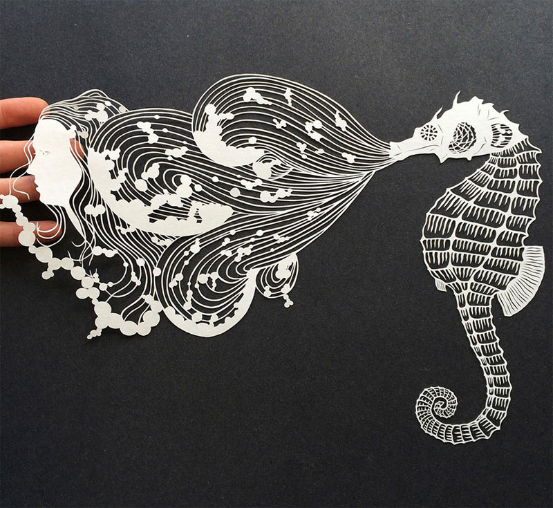 hand cut paper art by maude white 4