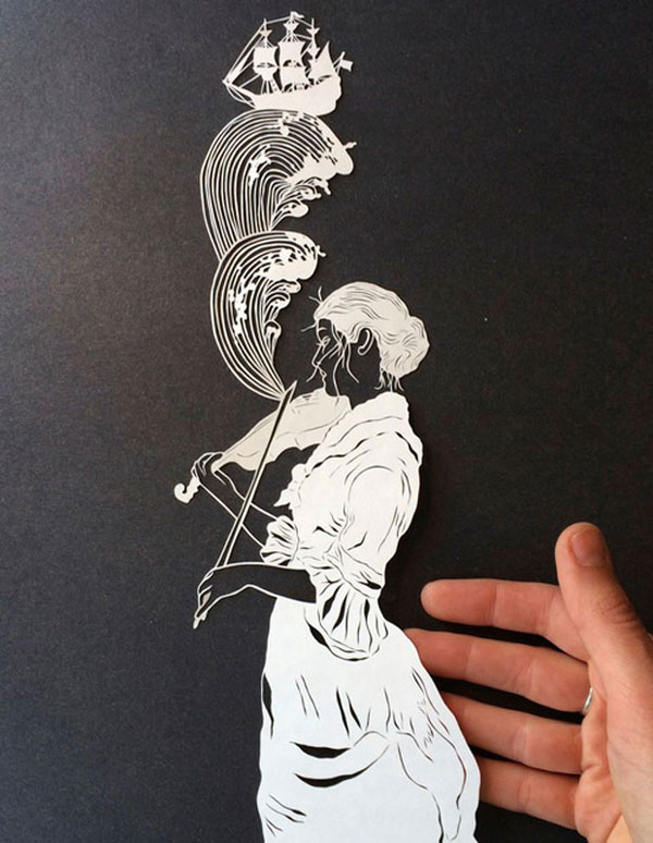 hand cut paper art by maude white 8