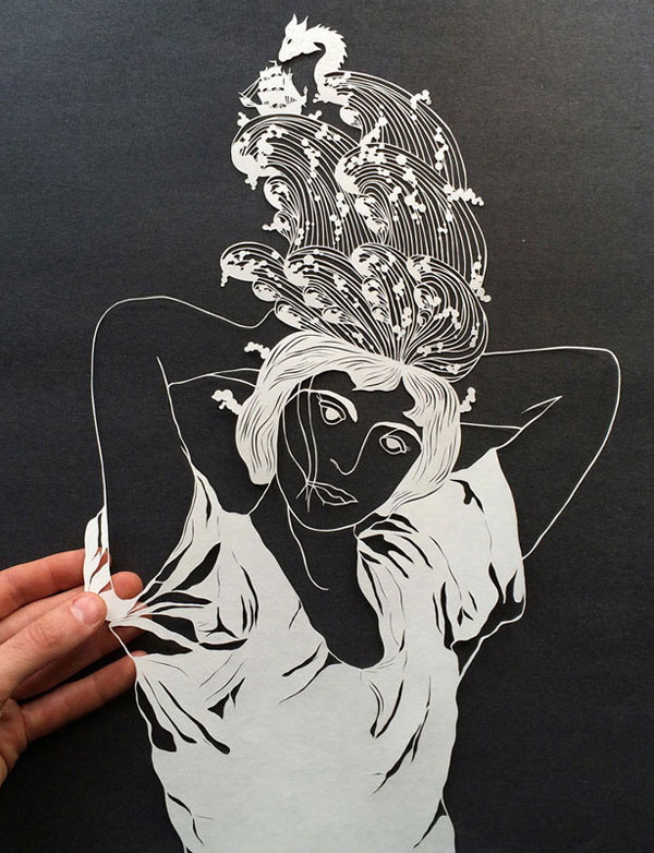 hand cut paper art by maude white 11