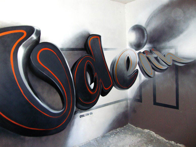 anamorphic graffiti murals that leap off the wall by odeith (11)