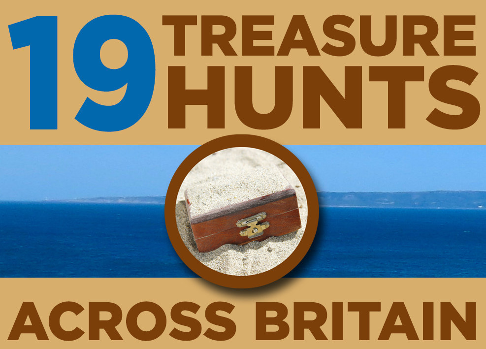 19 Treasure Hunts Across Britain You Can Actually Go On