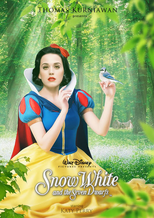 Artist Imagines Celebrities as Real Life Disney Characters (9)