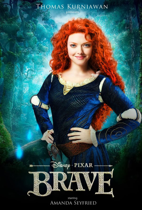 Artist Imagines Celebrities as Real Life Disney Characters (10)