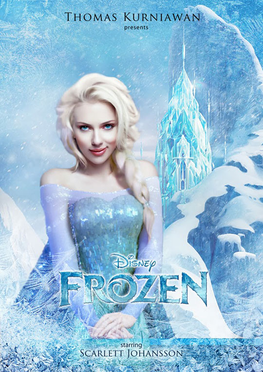 Artist Imagines Celebrities as Real Life Disney Characters (5)
