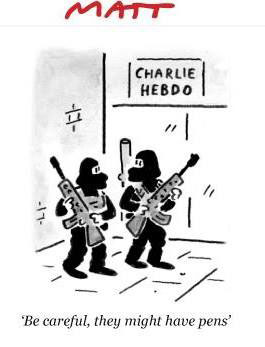 Artists Around the World Respond to the Charlie Hebdo Attack in the Best WayPossible