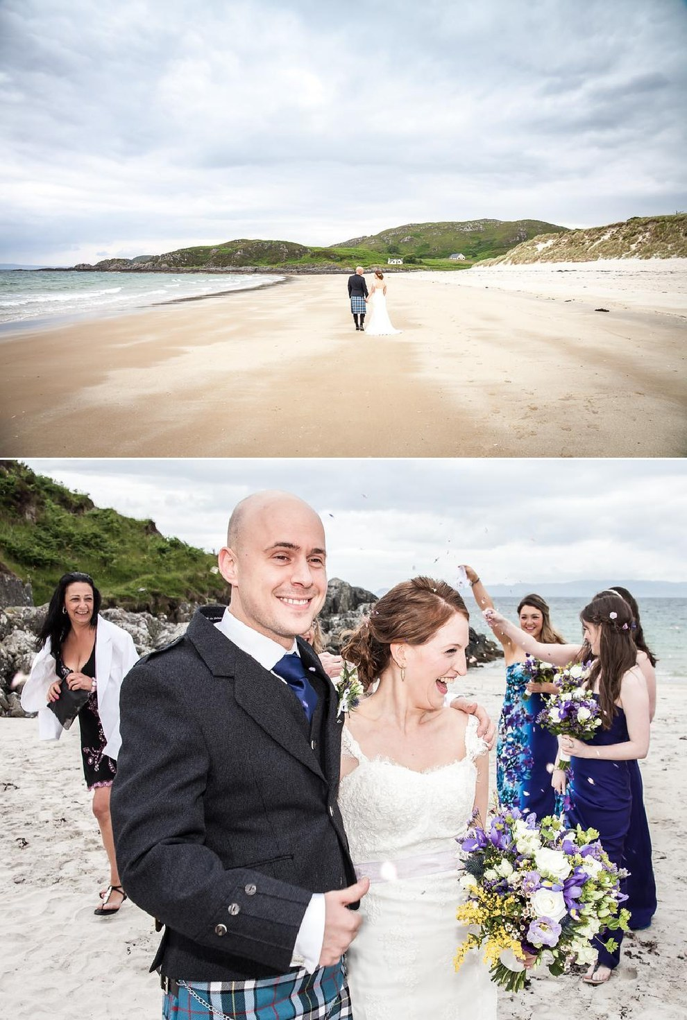 Couple: Kenny and Christina. Photographer: Brian O'Neill/ Crieff Photography