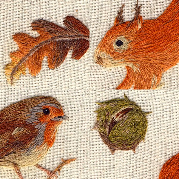 miniature animal embroideries by chloe giordano (7)