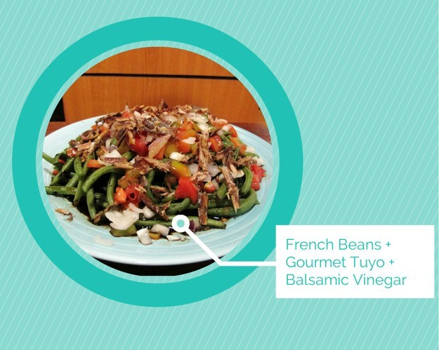 French Beans and Tuyo Salad