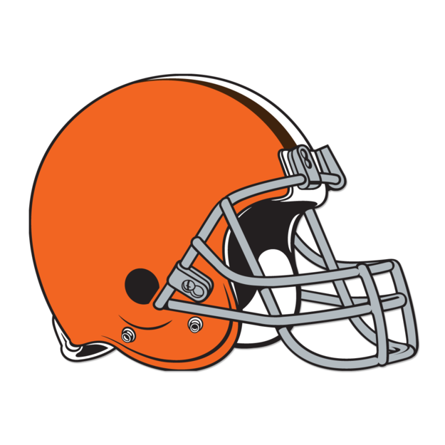 Here is the old Cleveland Browns logo. Understated and tasteful, but very 2014. This is not a logo that is going to work well in the second half of the 'teens.