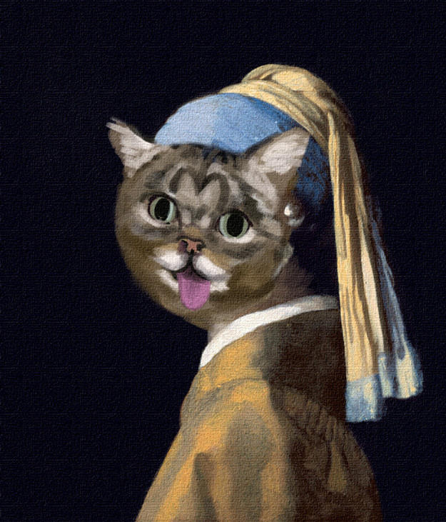 12 Internet Cats If They Were Famous Paintings