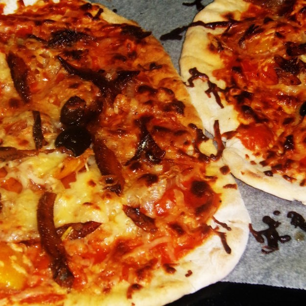 Pan Oven-grilled Tuyo Pizza