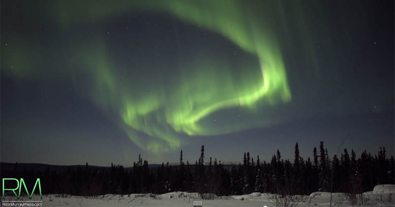 The Northern Lights in Real-Time, Ultra HD