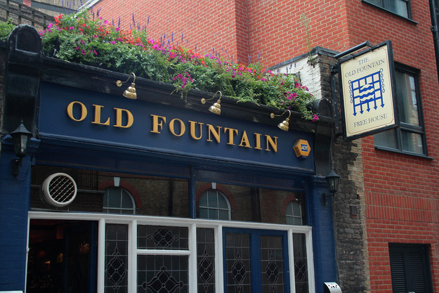 The Old Fountain, Finsbury