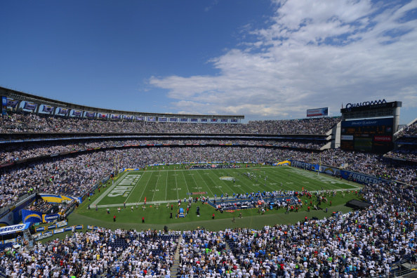 The Raiders have been famously searching to get out of O.co Coliseum in Oakland, which they share with the Oakland A's. The Chargers have also been seeking a new stadium in San Diego without much luck.