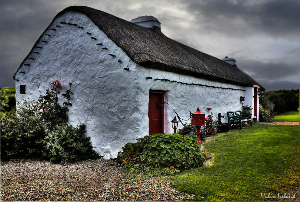 The Rose Cottage in Ireland.