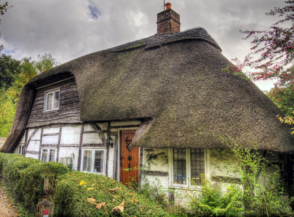 The Tavern Cottage in Hampshire, England.