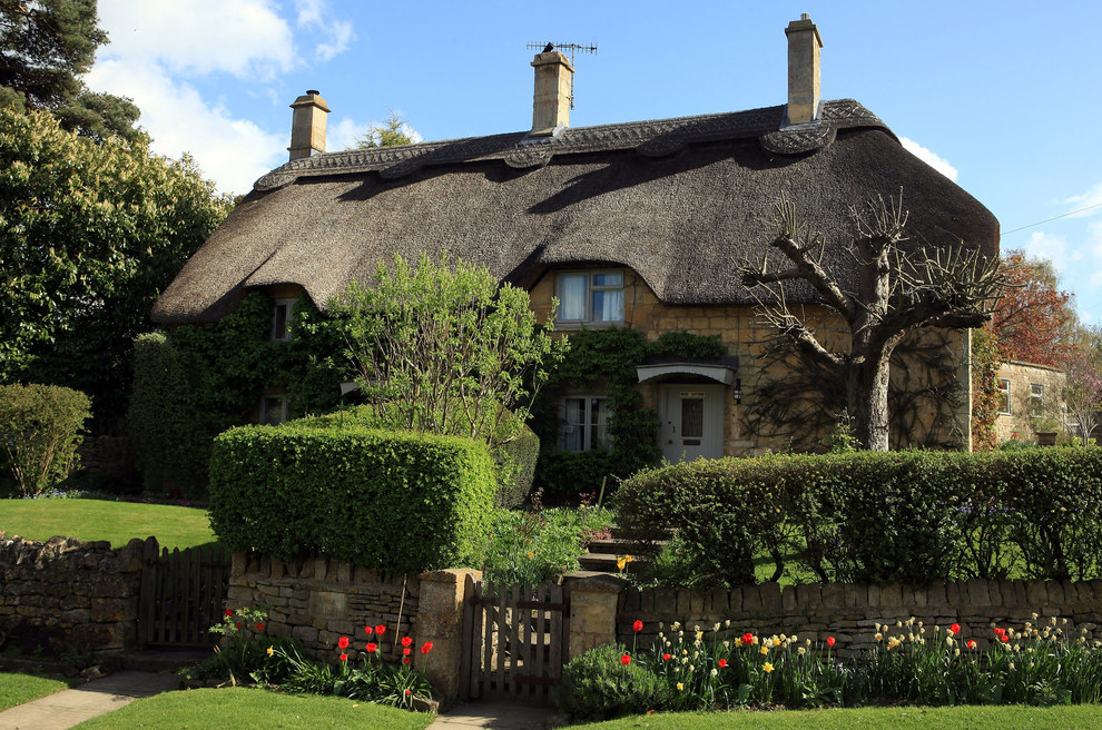 This charming cottage in Gloucestershire, England.