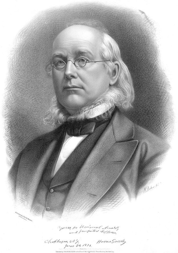 This is Horace Greeley.