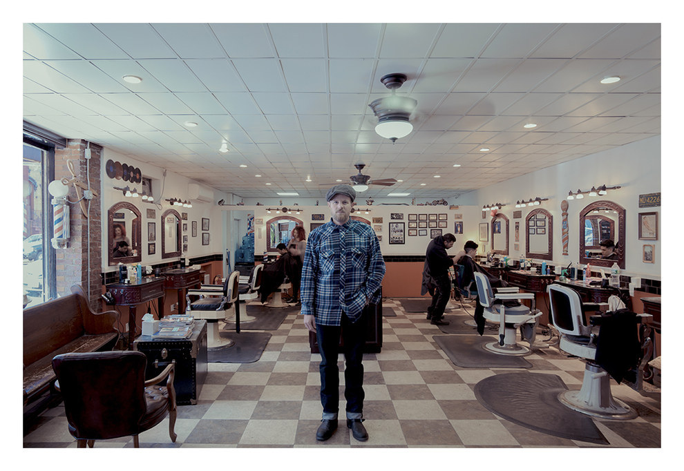 Tomcats Barbershop, Greenpoint, Brooklyn