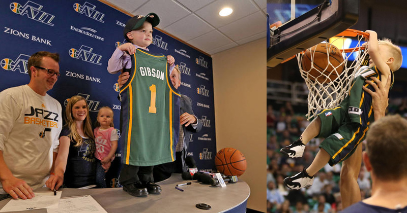 Utah Jazz Sign 5-year-old Free Agent JP Gibson