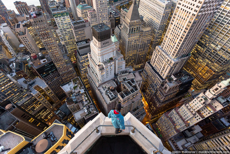 What New York City Looks Like from the Rooftops of Buildings