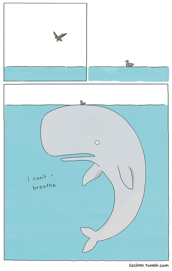 When She's Not Drawing The Simpsons, Liz Climo Makes Funny Animal Comics