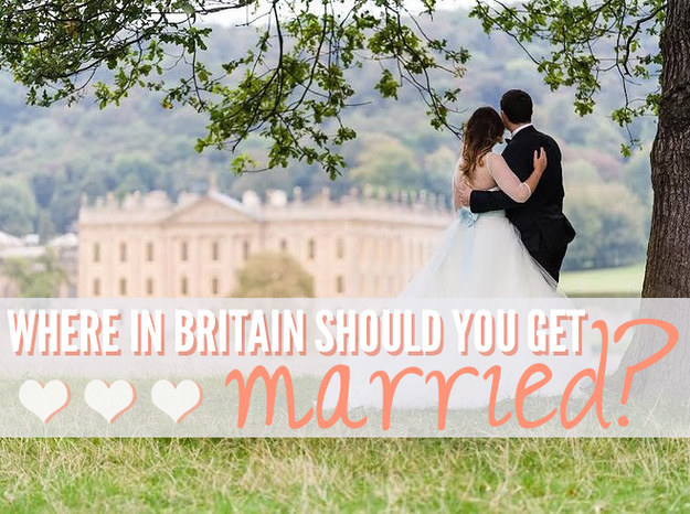 Where In Britain Should You Get Married