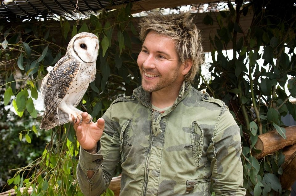 You can read more about Chris, his zoo, and his TV show on his Facebook.