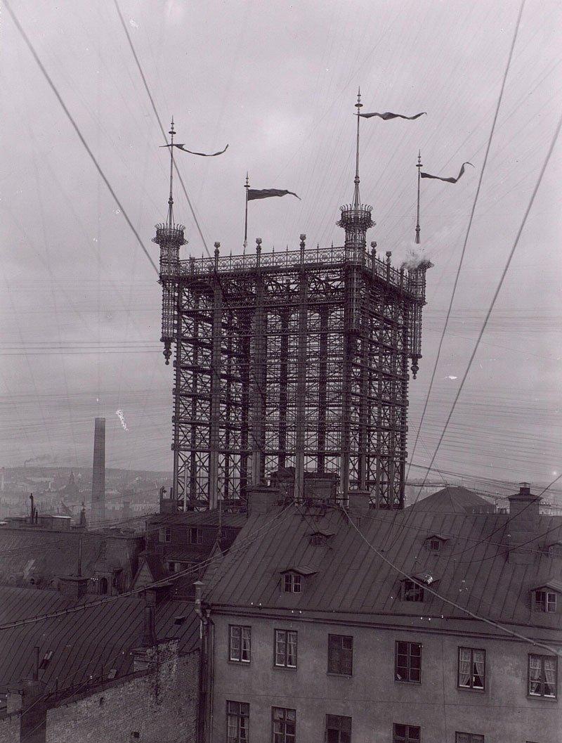 stockholm telephone tower 1887   1913 over 5000 telephone lines connected (5)