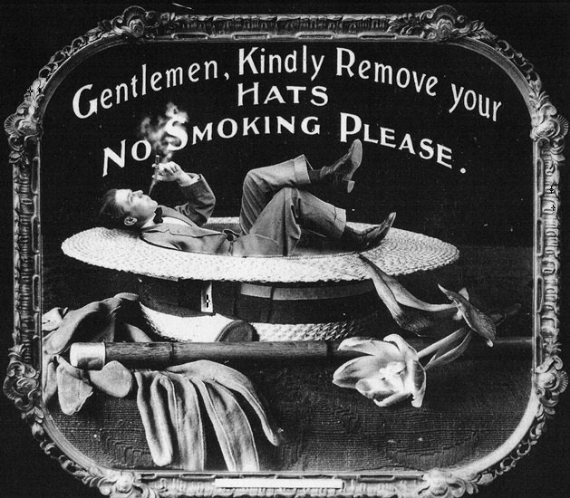 14 Vintage Movie Theatre Etiquette Posters from 1912 (15)