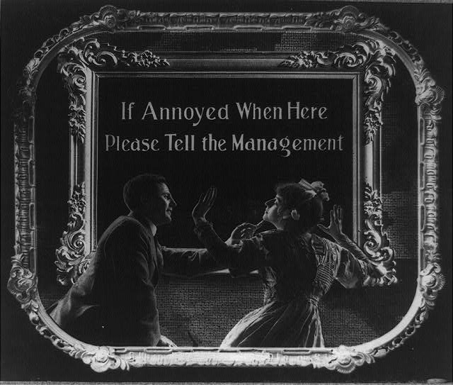 14 Vintage Movie Theatre Etiquette Posters from 1912 (1)