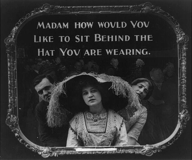 14 Vintage Movie Theatre Etiquette Posters from 1912 (4)