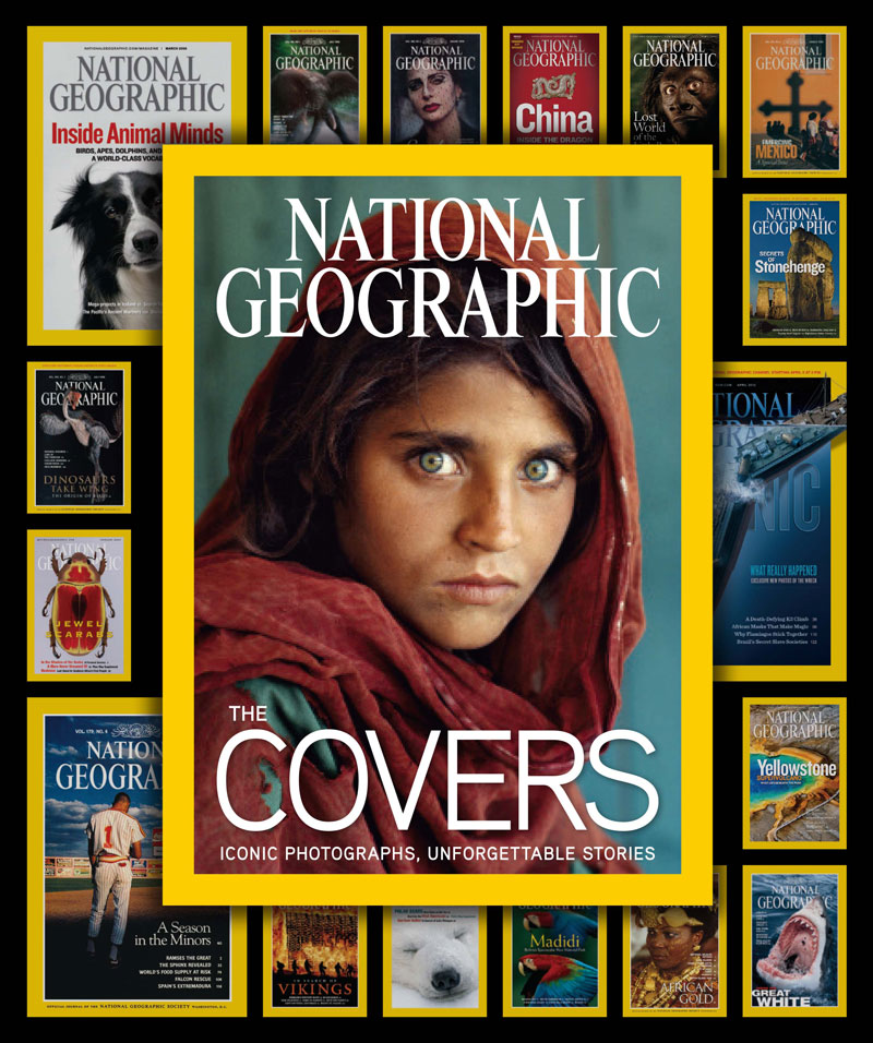 cover image National Geographic THE COVERS